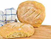 Fresh baked home made bread Stock Photography