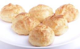 Fresh baked homemade buns Stock Images