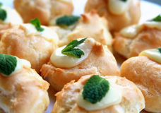 Fresh baked homemade pastries Royalty Free Stock Photos