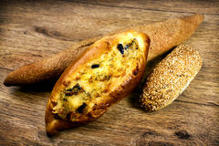 Fresh baked italian bread Royalty Free Stock Image