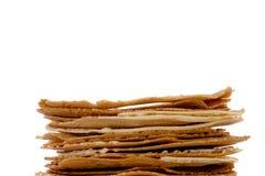 Fresh baked krumkakes Stock Photo