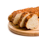 Fresh-baked loaf Royalty Free Stock Images