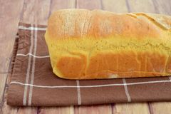 Fresh baked loaf bread. Fresh baked loaf of bread Royalty Free Stock Images