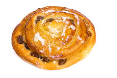 Fresh baked loaf with raisins. Studio Photo Stock Image