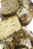 Fresh baked loafs of sour dough bread Stock Photos