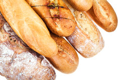 Fresh baked loaves of bread Stock Photography
