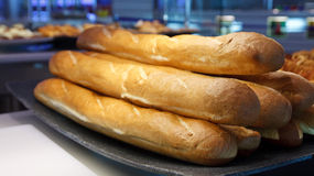 Fresh Baked Loaves of French Bread Stock Photos