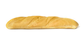 Fresh-baked long loaf Stock Photography