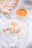 Fresh baked madeleines cookies Photos libres de droits
