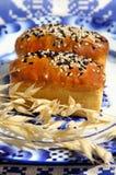 Fresh baked mini bread Stock Images