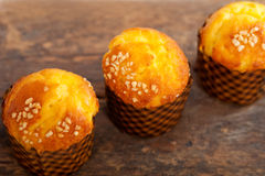 Fresh baked muffin Royalty Free Stock Photography