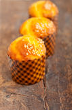 Fresh baked muffin Stock Images