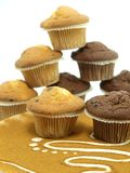 Fresh baked muffins Royalty Free Stock Photo