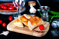 Fresh baked  pasties Stock Images