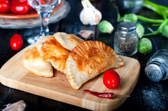Fresh baked  pasties Royalty Free Stock Image