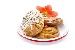 Fresh Baked Pastries Stock Image