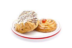 Fresh Baked Pastries Royalty Free Stock Photo
