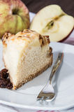 Fresh baked piece of Apple Pie Royalty Free Stock Image