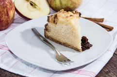 Fresh baked piece of Apple Pie Stock Images