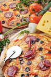 Fresh baked pizza Royalty Free Stock Photography