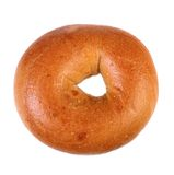 Fresh Baked Plain Bagel Royalty Free Stock Image