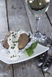 Fresh Baked Potatoe Royalty Free Stock Image