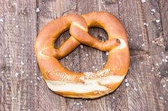 Fresh baked Pretzel Stock Images