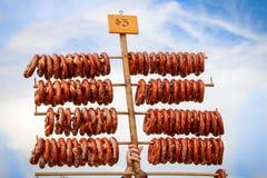 Fresh Baked Pretzels for Sale Stock Image