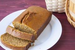 Fresh Baked Pumpkin Bread Royalty Free Stock Image