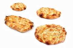 Fresh baked Ramadan pitas Stock Photography