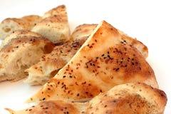 Fresh baked Ramadan pitas Royalty Free Stock Image