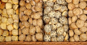 Fresh baked rolls Stock Photo