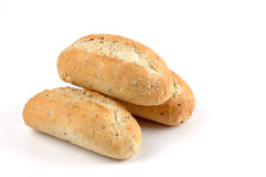 Fresh Baked Rolls. Fresh baked whole grain rolls Stock Photo