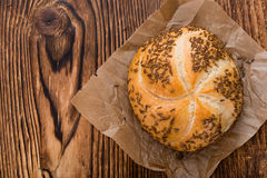Fresh baked Rolls (with Caraway) Royalty Free Stock Photo