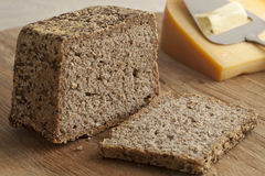 Fresh baked rye bread Stock Images