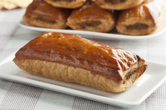 Fresh baked sausage roll Royalty Free Stock Photo