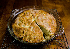 Fresh baked scones Stock Photos