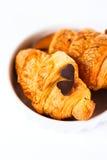 Fresh baked tasty croissant Stock Image