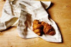 Fresh baked tasty croissant Royalty Free Stock Photo