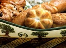 Fresh baked various buns Royalty Free Stock Photos