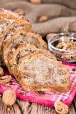 Fresh baked Walnut Bread Stock Photos