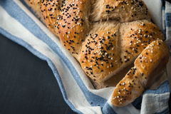 Fresh baked white Bread Royalty Free Stock Images