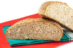 Fresh baked whole-wheat bread Royalty Free Stock Photo