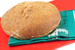 Fresh baked whole wheat bread Stock Images
