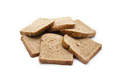 Fresh Baked Whole wheat Toast Bread 库存图片
