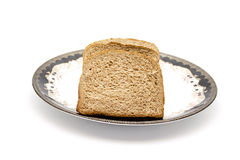 Fresh Baked Whole wheat Toast Bread 免版税图库摄影