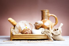 Fresh bakery bread Stock Images