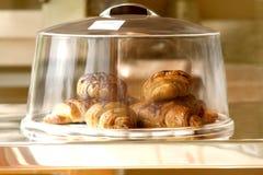 Fresh bakery on a plate Royalty Free Stock Photos