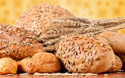 Fresh bakery products Royalty Free Stock Photography