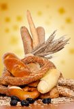 Fresh bakery products Stock Photos